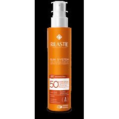 Rilastil Sun System SPF50+ Emulsione Spray Corpo Protezione Solare Molto Alta 200 ml