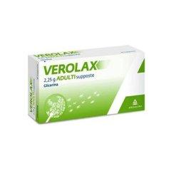 Verolax 18 Supposte di Glicerina Adulti 2,25g