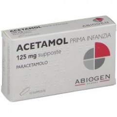 acetamol 10 supposte lattanti 125 mg