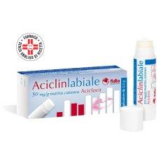 aciclovir aciclin labiale matita 5% 2,5g