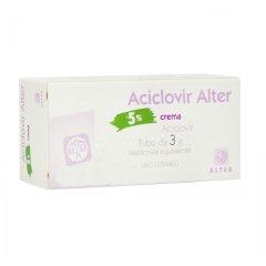 aciclovir alter crema 5% 3g