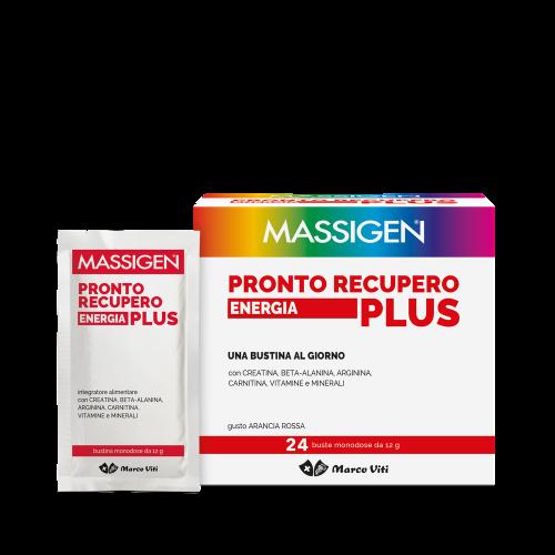 MASSIGEN PRONTO RECUPERO PLUS 24 BUSTINE + 2 OMAGGIO