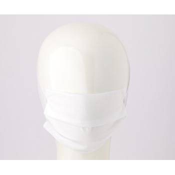 mascherina lavabile triplo strato tnt adulti bianco 2 pezzi