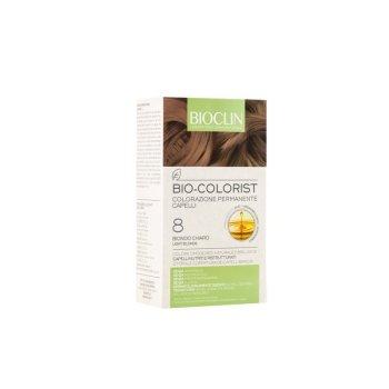 bioclin bio colorist tintura capelli colore 8 biondo chiaro