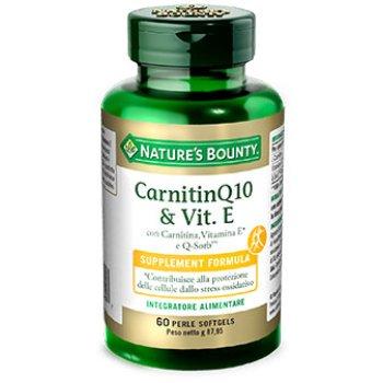 carnitine q10 & vitamina e 60 perle softgels