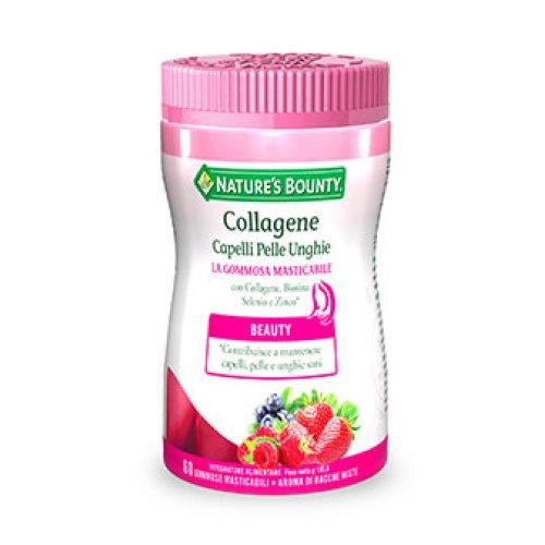 Collagene Capelli Pelle Unghie 60 gommose masticabili