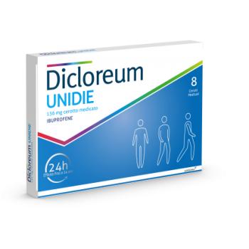 dicloreum unidie 8 cerotti medicati 24h 136mg