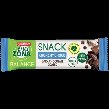 enervit enerzona snack balance crunchy choco 33g