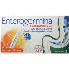 enterogermina os 20 flaconi 4 miliardi / 5ml