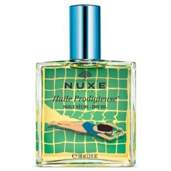 nuxe huile prodigieuse olio secco viso corpo capelli edizione limitata blue 100 ml
