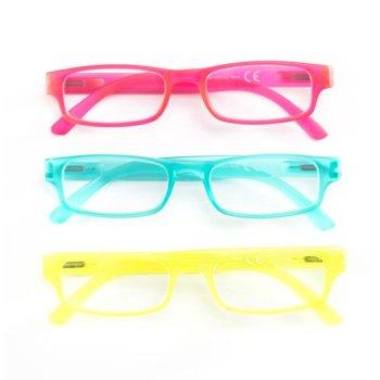 contacta fluo occhiali presbiopia celeste +2,50