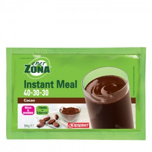 ENERVIT Enerzona Instant Meal 40-30-30 Cacao 1 Busta