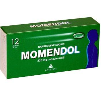 momendol 12 capsule molli 220 mg