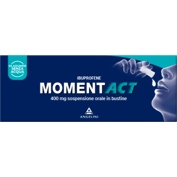 momentact sospensione orale 8 bustine 400 mg
