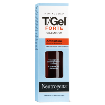 neutrogena shampoo t/gel forte antiforfora capelli grassi 125 ml