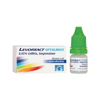 levoreact ofta collirio 4ml 0,5mg/ml