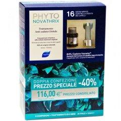 Phytonovatrix Trattamento Anticaduta Duo 12 + 12 Fiale