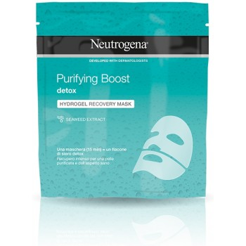 neutrogena purifying boost hydrogel recovery mask purificante
