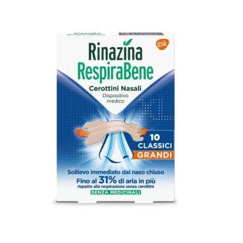 rinazina respirabene classici grandi 10 cerotti...