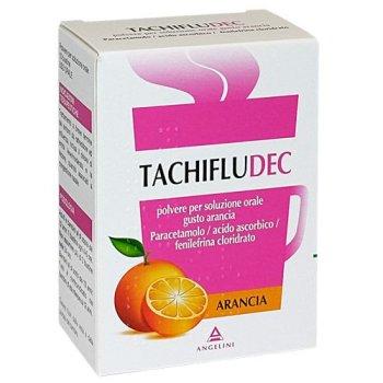 tachifludec 10 bustine gusto arancia