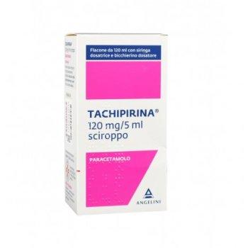 tachipirina sciroppo 120mg / 5ml 120ml
