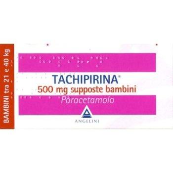tachipirina bambini 10 supposte 500 mg