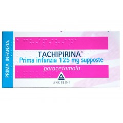 Tachipirina Prima Infanzia 10 supposte 125 mg