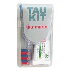 Tau Marin Kit Viaggio Spazzolino Duro + Dentifricio