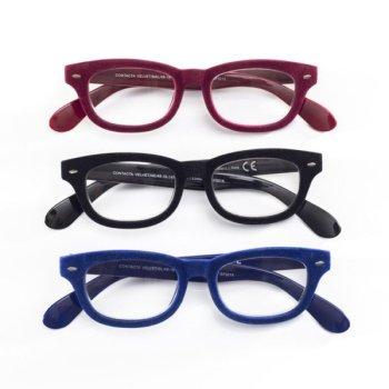 contacta velvet occhiali presbiopia malva +1,00
