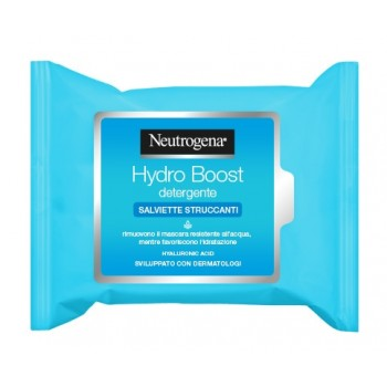 neutrogena hydro boost salviette struccanti 25 ...