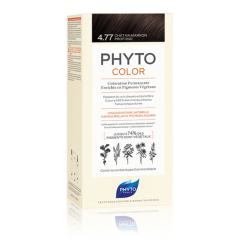 phyto phytocolor 4.77 castano marrone intenso