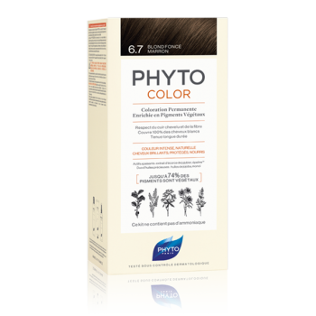 phytocolor colorazione permanente 6.7 biondo sc...