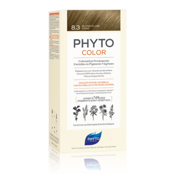phytocolor colorazione permanente 8.3 biondo ch...