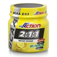 proaction bcaa 2:1:1 instant powder amminoacidi...