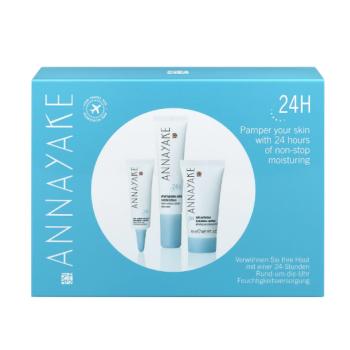annayake 24h travel kit idratante con siero crema e contorno occhi