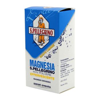 magnesia san pellegrino 45% effervescente gusto limone 100g