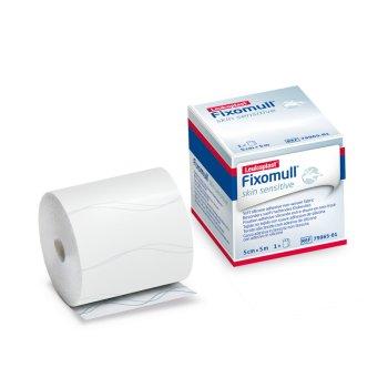 leucoplast fixomull skin sensitive - garza adesiva 5mt x 5cm