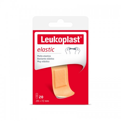 Leukoplast Elastic - Cerotti 28 x 72 mm 20 pezzi