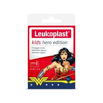 leukoplast cerotti kids hero edition wonder woman - striscia ritagliabile 1m x 6cm