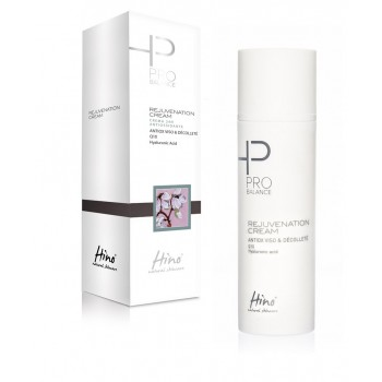 hino natural skincare pro balance rejuvenation cream crema viso antiossidante 24h 50 ml