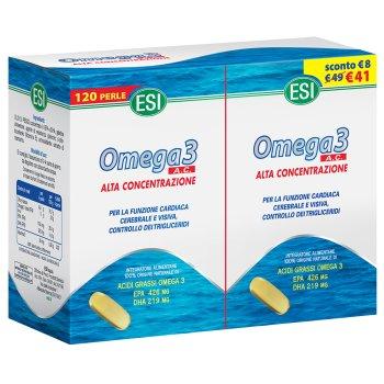 omega 3 alta concentrazione 120 perle