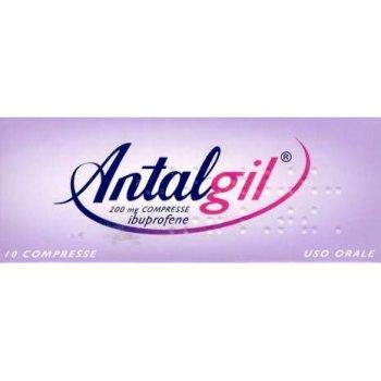 antalgil 10 compresse 200 mg