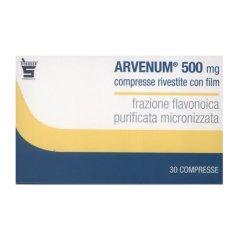 arvenum 500 30 compresse rivestite 500 mg