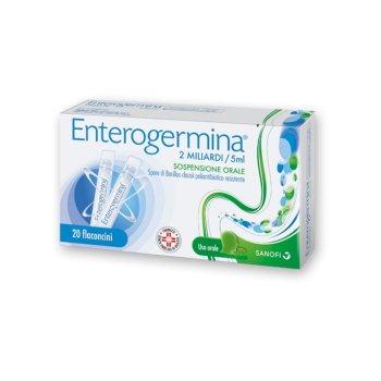 enterogermina os 20 flaconi 2 miliardi 5ml