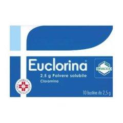 Euclorina Polvere Solubile Uso Esterno 10 Bustine 2,5g