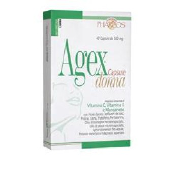 pharcos agex donna int.40 cps