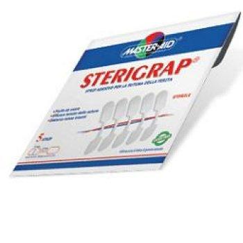 cerotti master aid sterigrap 8 x 32 mm 5 pezzi