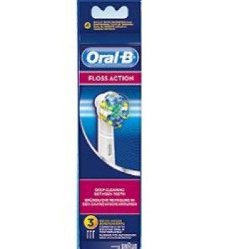 oralb floss action ricambi spazzolino elettrico 3 pezzi