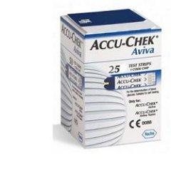 accu chek aviva 25 strisce reattive
