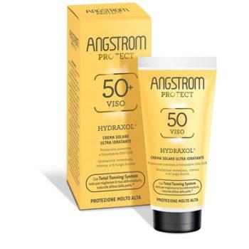 angstrom protect hydraxol viso spf50+ crema solare ultra idratante 50ml